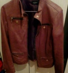 Кожаная куртка Motivi