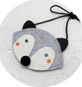 Детская сумка лисичка