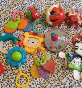 Игрушки Fisher-Price, Tiny Love, Стеллар, Полесье