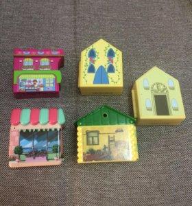 Домики для кукол(Пеппа, Винкс)