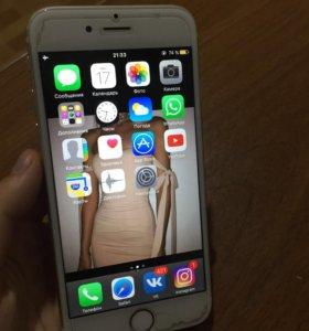 iPhone 6, 16gb, gold