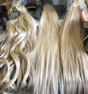 Термостойкие волосы на заколках