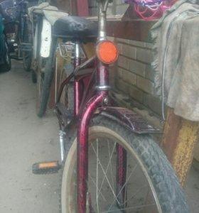 Велосипед среднего возраста7-14лет