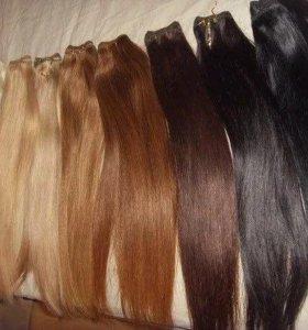 Волосы на заколках термо наборы