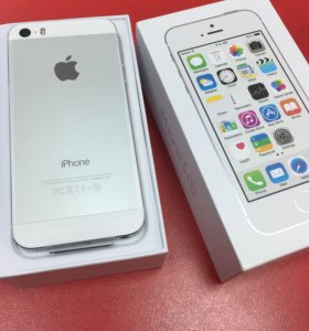 iPhone 5s silver 32гб