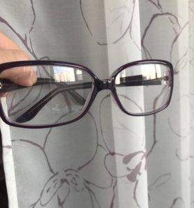 Очки, качественная оправа, из оптики