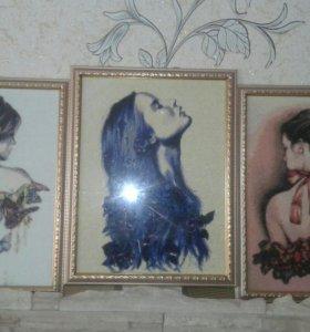 Картины из алмазной вышивки
