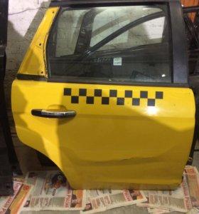 Дверь задняя правая форд фокус 2+два передних крыл