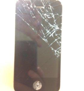 Разбитый iPhone 4S, на запчасти
