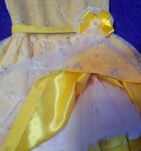 Платье на праздник+ туфли