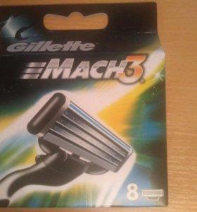 Сменные кассеты Gillette Mach3 8шт