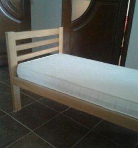 Кровать подростковая с матрасом