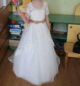 Платье принцессы на праздник