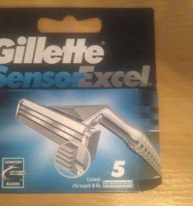 Сменные кассеты Gillette Sensor Excel 5шт.