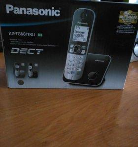 Цифровой беспроводной телефон Panasonic, новый