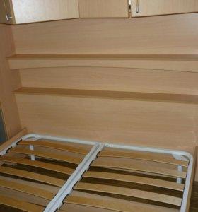 Угловой спальный гарнитур