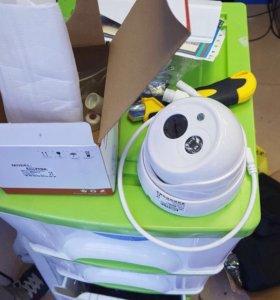 IP видеокамера 2mp с аудиовходом