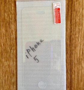 iPhone 5 / 5c / iPhone 5s / SE стекло защитное