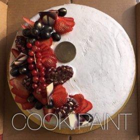 Фруктовый торт 🍰🍓🍌🍇