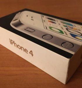 Коробка айфон 4