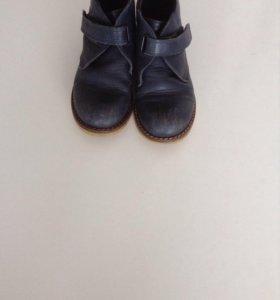 Ботиночки кожаные на мальчика размер 31.