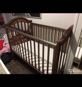 Детская кроватка-качалка Pali