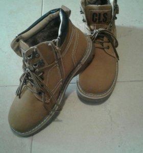 Ботинки мужские,зимние