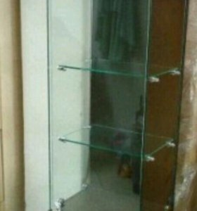 Шкаф-витрина, тумбы