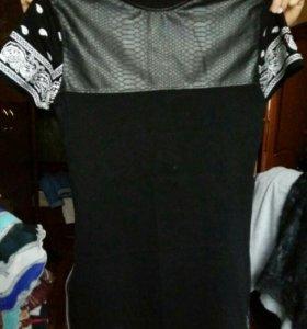 Длинная футболка унисекс