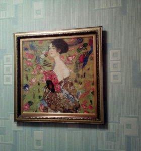 Картина вышитая крестиком