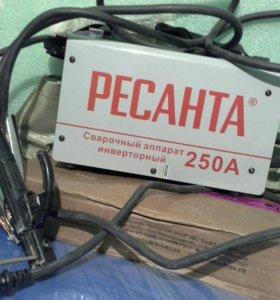 Сварочный аппарат Ресанта 250А