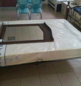 Кровать металическая с ортопедическим основанием
