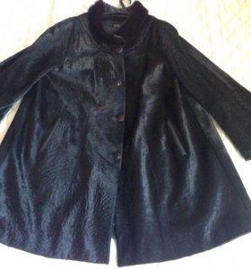 Стильное пальто р.56