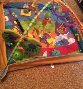 Игровой развивающий коврик (Tiny Love) зоосад