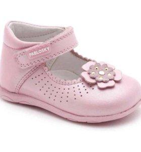 Туфельки Pablosky новые розовые
