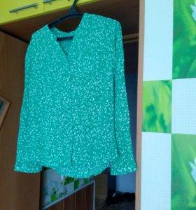 Новая штапельная блуза