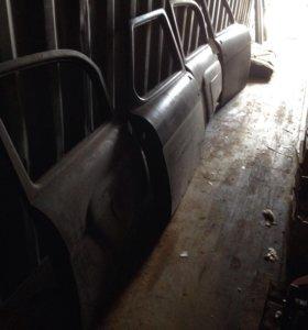 Газ 21 Двери,крылья,сиденья.