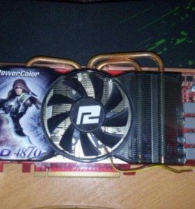Видеокарта: ATI Radeon HD 4870