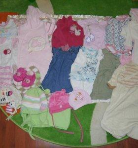 Пакет детской одежды р.62-74