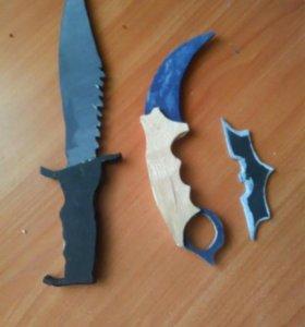 Продаются поделки ножи из CS:GO