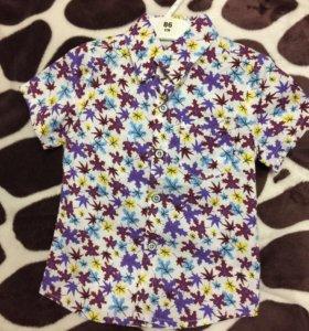 Рубашка новая р.98