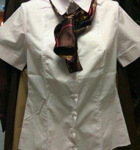 Рубашка женская белая новая блузка