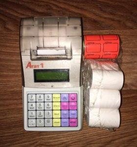 Чекопечатающая машина АГАТ-1