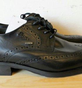 Новые мужские кожаные ботинки