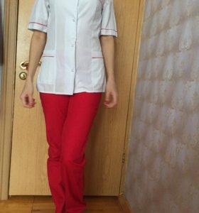 Хирургический костюм женский , халат