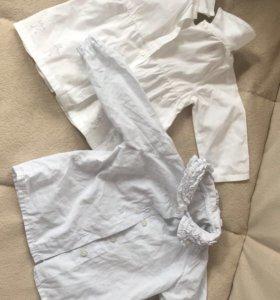 Две отличные рубашечки на рост 68