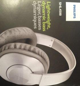 Новые наушники 🎧 Philips SHL 4500