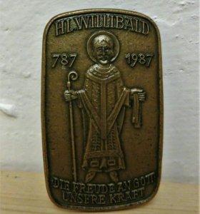 Значок Святой Виллибальд Германия