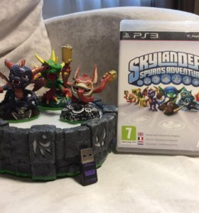 Игра на PS3 - SkyLanders: Spyro's Adventure