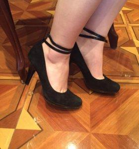 Замшевые туфли CARNABY